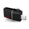 "Sandisk 16GB USB3.0/Micro USB ""Dual Drive"" Fekete-Ezüst (173347) Flash Drive"