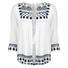 Rock and Rags Top felső Rock and Rags Embroidered Jacket női