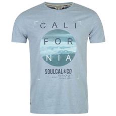 Soul Cal Póló SoulCal Graphic fér.