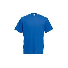 póló kék kereknyakú 100% pamut (XL)
