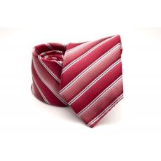 Rossini Prémium nyakkendõ - Piros-fehér csíkos