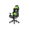 Sharkoon Skiller SGS3 gamer szék - fekete-zöld (4044951019519)