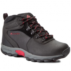 Columbia Félcipő COLUMBIA - Youth Newton Ridge BY2852 Black/Mountain Red 010