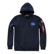Alpha Industries Space Shuttle Hoody - replica blue