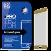 Xprotector Tempered Glass full 3D Gold kijelzővédő Samsung S7 készülékhez