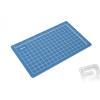 Excel Vágóalátét 14x23cm (kék)