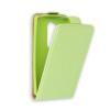 Flip szilikon belső Flip tok szilikon belsővel, Samsung A510 Galaxy A5 2016, zöld