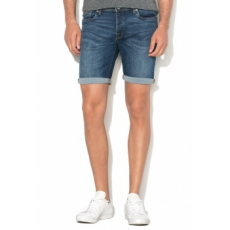 Selected Homme Alex Sötétkék Farmer Rövidnadrág L (16056695-DARK-BLUE-DENIM-L)