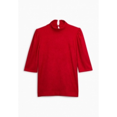 Next TBC NEXT Ruched Shoulder Top 22 (962087-RED-22)