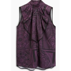 Next TBC NEXT Tipped Frill Front Top 12 (457669-PURPLE-12)