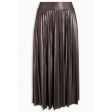 Next TBC NEXT Pewter Pleated Skirt 12 (457793-SILVER-12)