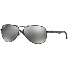 Ray-Ban Carbon Fibre RB8313 002/K7 Polarized