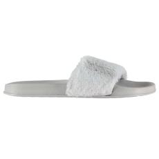 Fabric Strand papucs Fabric Fur Sliders női