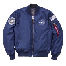 Alpha Industries MA-1 VF NASA RP - ocean blue