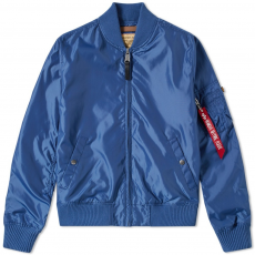 Alpha Industries MA 1 TT - pacific blue