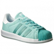 Adidas Superstar Bounce Unisex sportcipő, Easy Mint/White, 42 (BB2294-8)