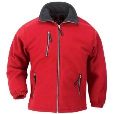 MV ANGARA cipzáros pulóver piros XS-XXXL méretek