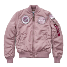 Alpha Industries MA-1 VF NASA Női - silver pink