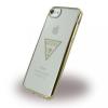 Guess iPhone 6/6S/7 Triangle hátlap, tok, arany