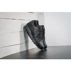 Nike Air Max 90 SE Leather (GS) Black/ Black-Dark Grey