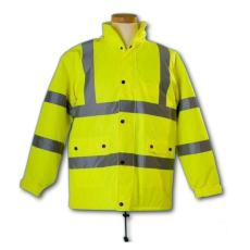 FLASH Jól Láthatósági Sárga Kabát (Flash Sárga vízálló kabát)