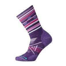 Smartwool W Phd Outdoor Medium Pattern Crew Mountain Purple S