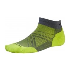 Smartwool Phd Run Light Elite Low Cut Graphite/Smartwool Green M
