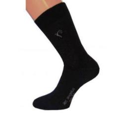 Ezüst zokni (extra) - Fekete - Aes Angelus