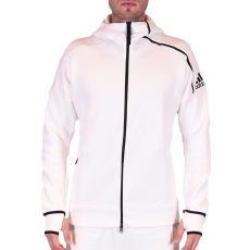 Adidas Zne Hoody Nd férfi kapucnis cipzáras pulóver fehér XL
