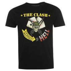 Official The Clash férfi póló fekete XL