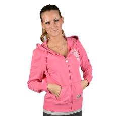 Russell Athletic Női cipzáras pulóver rózsaszín M
