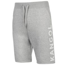 Kangol Large Logo férfi rövid melegítőnadrág szürke XXL