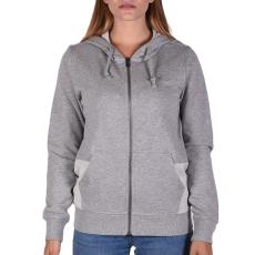 Converse Metallic Fz Hoodie női cipzáras pulóver szürke L