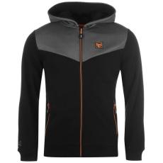 Everlast Premium férfi kapucnis cipzáras pulóver fekete XL