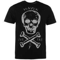 Tony Hawk Skull férfi pamut póló fekete M