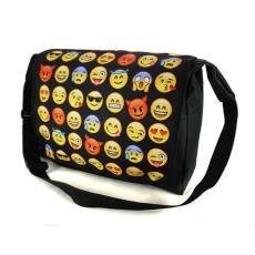 Wilky Emoji Black A4 válltáska többszínű