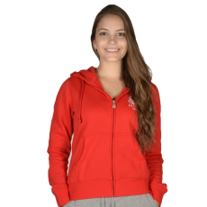 Russell Athletic Női cipzáras pulóver piros XL