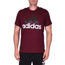 Adidas Ess Linear Tee férfi póló bordó XXL