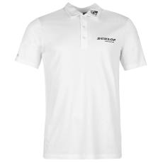Dunlop Lightweight Endure férfi galléros póló fehér S