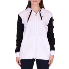 Emporio Armani Sweatshirt női cipzáras pulóver fehér M