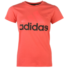Adidas Linear QT női póló pink M