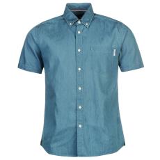 Pierre Cardin Chamy férfi rövid ujjú ing világoskék XL