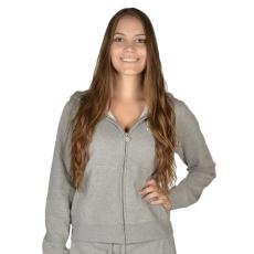 Russell Athletic Női cipzáras pulóver szürke XL