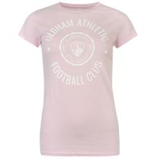 Team Oldham Graphic női póló pink XL