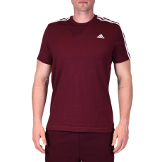 Adidas Ess 3s Tee férfi póló bordó L