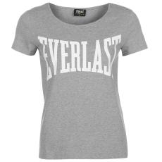 Everlast Large Logo női kerek nyakú póló szürke S