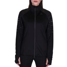 Adidas Performancetrac női cipzáras pulóver fekete L