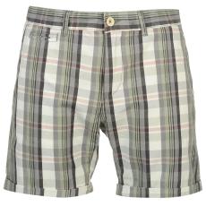Pierre Cardin YD Check férfi kockás rövidnadrág sötétszürke M