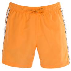 Calvin Klein Taped férfi hálós úszóshort narancs M