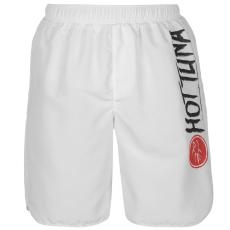 Hot Tuna Logo férfi úszónadrág fehér XL